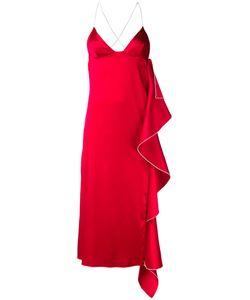 SSHEENA | Платье С Каскадным Разрезом