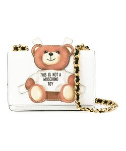 Moschino | Toy Bear Paper Cut Out Crossbody Bag Calf