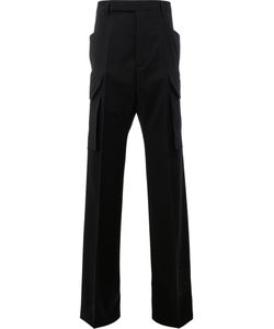 Rick Owens | Wide Leg Pocket Trousers 46 Spandex/Elastane/Virgin