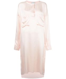 Faith Connexion | Front Placket Shift Dress Small Silk/Cotton/Polyamide