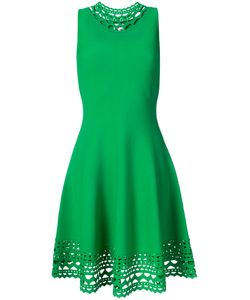 Milly | Laser-Cut Trim Sleeveless Dress