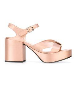 Jil Sander | Sandals Size 36 Goat Skin/Bos Taurus/Silk