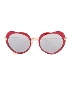 Miu Miu Eyewear | Heart Shaped Sunglasses Metal/Acetate