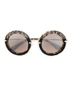 Miu Miu Eyewear | Round Framed Sunglasses Acetate/Metal Other