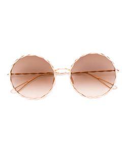 Elie Saab | Round Framed Sunglasses