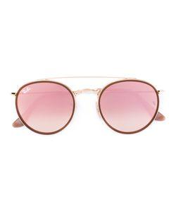 Ray-Ban | Круглые Розовые Солнцезащитные Очки
