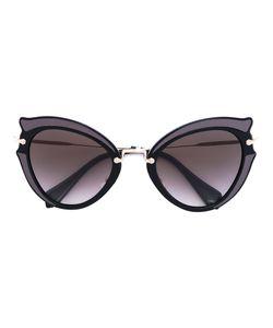 Miu Miu Eyewear   Солнцезащитные Очки С Оправой Кошачий Глаз