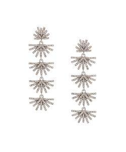 Lele Sadoughi | Embellished Drop Earrings Women Plated
