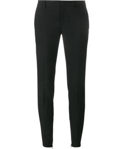Saint Laurent | Gabardine Skinny Trousers 42 Virgin Wool/Cotton