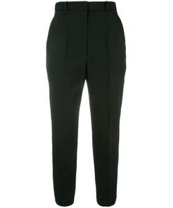 Alexander McQueen | Cropped Trousers 44 Wool/Cupro
