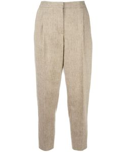 MSGM | Tape Trousers 44 Cotton/Linen/Flax