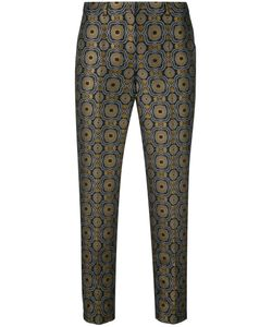 'S Max Mara | Geometric Pattern Cropped Trousers 40