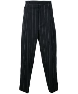 JUUN.J | Pinstripe Cropped Trousers Mens Size 48 Wool