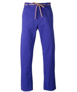 Marc Jacobs | Tie Waist Straight Leg Trousers