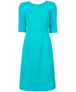 Oscar de la Renta | Jewel Neck Dress