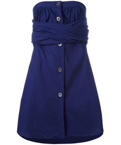 ROMEO GIGLI VINTAGE | Strapless Wrap Dress 44