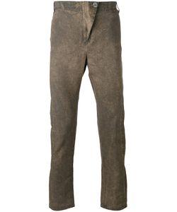 10Sei0Otto | Super Skinny Trousers Small Cotton/Linen/Flax