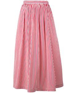 ROSSELLA JARDINI   Striped Full Skirt