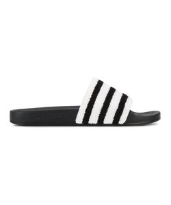 adidas Originals | Полосатые Шлепанцы Adilette