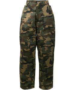 HOOD BY AIR | Camouflage Print Trousers Men