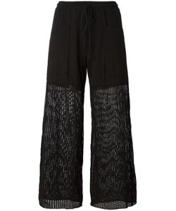 Lost & Found Rooms | Mesh Panel Palazzo Pants Size Xs