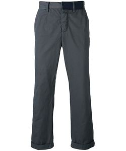 Sacai   Over-Dyed Chino Trousers Size 3