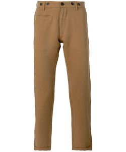 Barena | Cropped Chinos 50 Linen/Flax/Cotton/Polyester