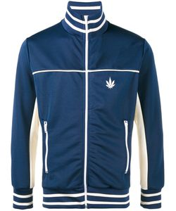 PALM ANGELS | Weed Stripe Track Jacket Size Xl Polyester