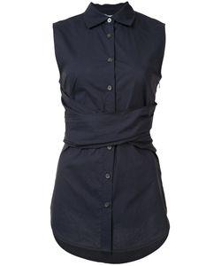 Derek Lam 10 Crosby   Cross Strap Sleeveless Shirt