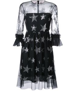 Huishan Zhang | Star Sequined Dress 12 Polyester