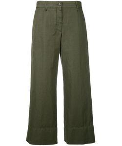 Aspesi | Fla Trousers 40 Cotton/Linen/Flax
