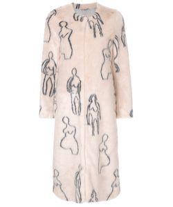 SHRIMPS | Callum Faux Fur Coat Women