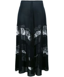 Stella Mccartney | Sheer Lace Panel Maxi Skirt 40