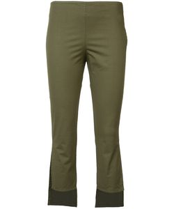 Hache | Asymmetric Cropped Trousers 42