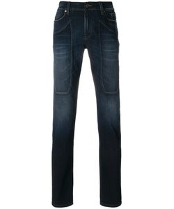 Jeckerson | Straight-Leg Denim Jeans Men 38