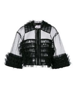 Comme Des Garçons Noir Kei Ninomiya | Ruffle Cropped Jacket