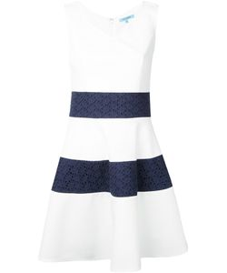 GUILD PRIME | Striped Fla Dress 36 Polyester/Polyurethane