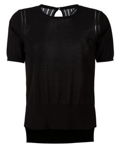 Rochas   Logo Patch Knitted Top