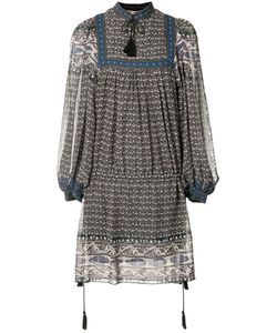 Ulla Johnson | Mini Peasant Dress 8 Polyester/Silk