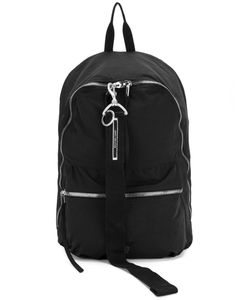 RICK OWENS DRKSHDW | Zipped Backpack Cotton/Nylon/Polyester/Metal