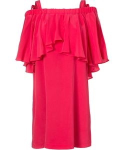 Nicole Miller | Ruffle Dress Size Medium
