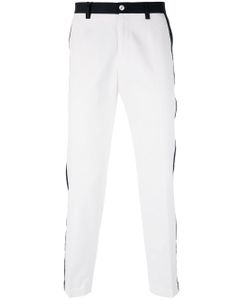 Dolce & Gabbana   Contrast Piped Trousers