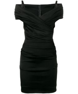 Dolce & Gabbana | Off-Shoulder Ruched Dress 42 Viscose/Spandex/Elastane/Silk