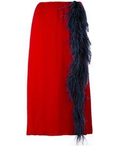 Prada | Front Slit Straight Skirt