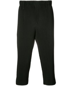 HOMME PLISSE ISSEY MIYAKE | Homme Plissé Issey Miyake Ribbed Cropped Trousers