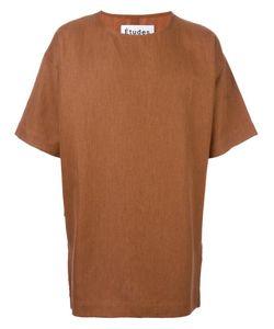 ÉTUDES | Powder Oversized T-Shirt Xs Cotton/Linen/Flax/Wool