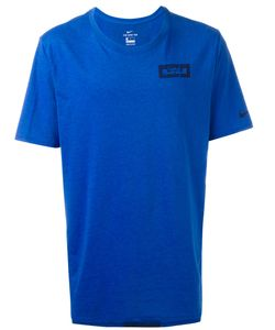 Nike | Logo T-Shirt Small Cotton/Polyester/Viscose