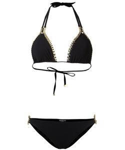 MOEVA   Chain Detail Bikini Small Polyamide/Spandex/Elastane/Metal