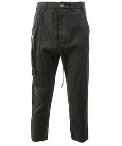 SONG FOR THE MUTE | Cargo Cropped Trousers Men
