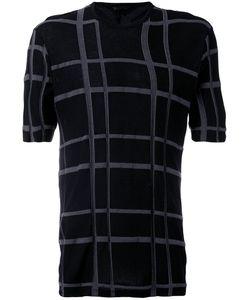 THE VIRIDI-ANNE   Checked T-Shirt 4